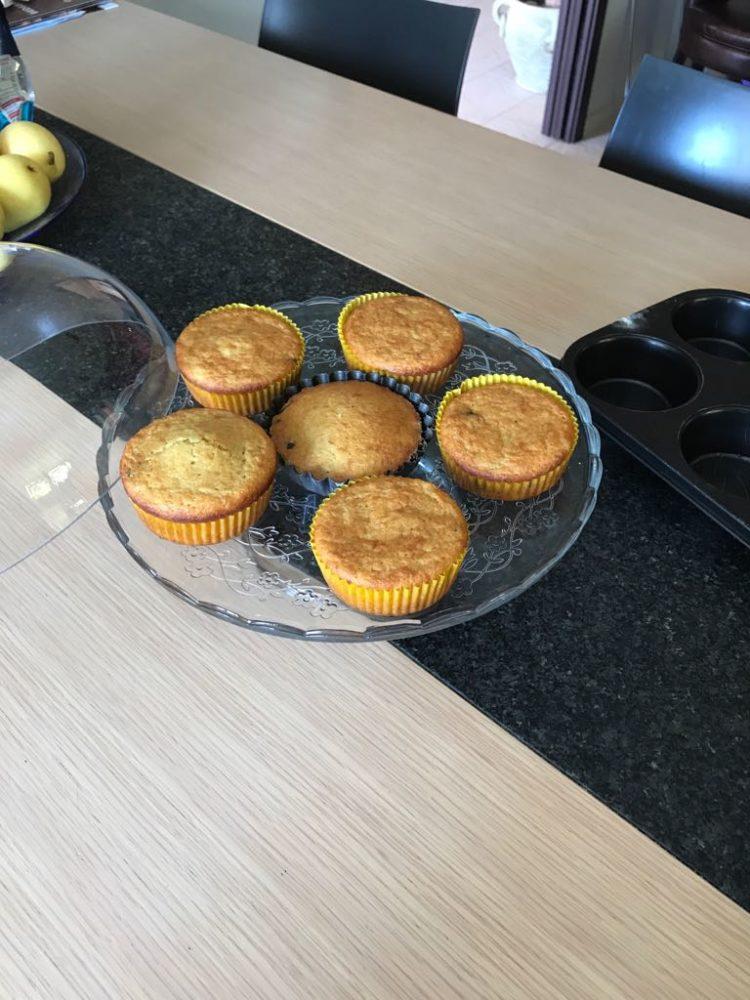 muffin alla banana colazione